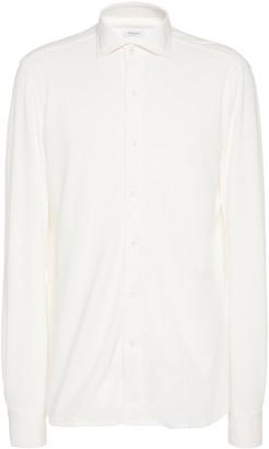Boglioli Slim-Fit Cotton-Jersey Shirt