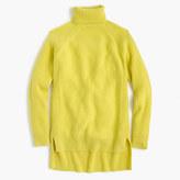 J.Crew Collection Italian cashmere-mohair turtleneck sweater