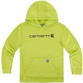Carhartt Sour Apple 'Carhartt' Force® Fleece Pullover Hoodie - Boys
