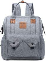 G-Mummy diaper bag Globalwells Large capacity Mummy Backpack Travel Bag Multifunction Baby Diaper Nappy Changing Handbag