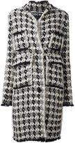 Rochas hand-woven coat