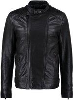 Oakwood Shadow Leather Jacket Noir