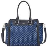 Armani Junior Infant Girl's Logo Nylon Diaper Bag - Blue