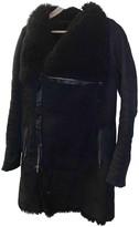 Anne Vest Black Shearling Coats