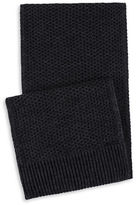 Calvin Klein Two-Tone Thermal Knit Scarf