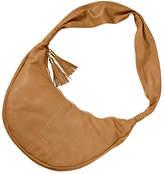 Clava Women's Carmel Whipstitch Crossbody - Beige Casual Handbags
