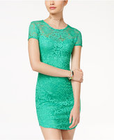 B. Darlin Juniors' Lace Bodycon Dress