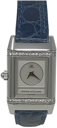 Jaeger-LeCoultre Reverso Duetto Silver Steel Watches