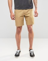 Penfield Chino Shorts In Tan