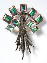Banana Republic Peacock Brooch