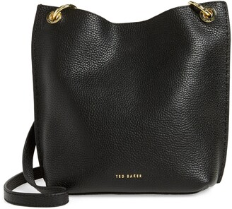 Ted Baker Mini Holiiee Leather Crossbody Bag