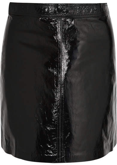 d8a2c71872 Patent Leather Skirt - ShopStyle