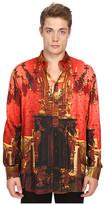 Vivienne Westwood Wallace Print Viscose Omar Shirt