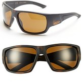 Smith Optics Women's 'Dragstrip' 64Mm Polarized Sunglasses - Matte Tortoise/ Polar Brown
