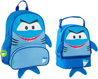 Stephen Joseph Shark Sidekick Backpack & Lunch Pal