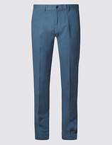 M&S Collection Straight Fit Pure Cotton Chinos
