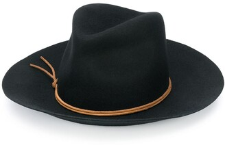 Isabel Marant Kinly wool-felt fedora hat