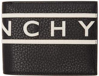 Givenchy Black Reverse Logo Wallet