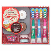 Melissa & Doug Cupcake Play Food Set