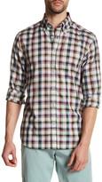 James Tattersall Long Sleeve Plaid Classic Fit Shirt