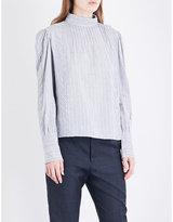 Etoile Isabel Marant Oak striped cotton shirt