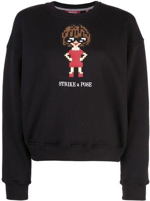Mostly Heard Rarely Seen 8 Bit Glossy sweatshirt