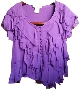 Chloé Purple Silk Top for Women