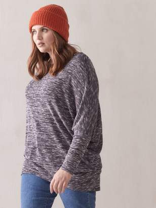Addition Elle Slouch Long-Sleeve Top