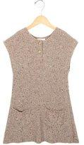 Chloé Girls' Sequin-Embellished Sweater Dress