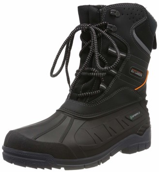 Spirale Spiral Iceland Winter Boots with Warm Faux Fur Lining - Perfect Hold on Snow and ice (45)