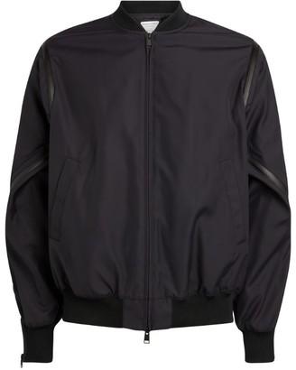 Bottega Veneta Zip-Detail Bomber Jacket