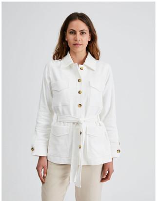Basque Utility Belted Jacket