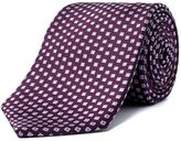 Aston & Gunn Purple Diamonds Tie