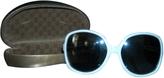 Gucci White Glass Sunglasses