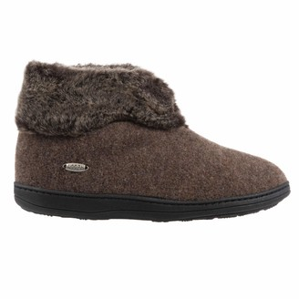 Acorn Women's Faux Chinchilla Bootie II Slipper
