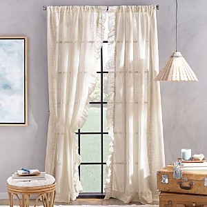 Peri Home Arabella Rod Pocket Curtain Panel, 50 x 108