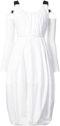 J.W.Anderson Cold-Shoulder Balloon Dress