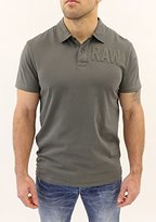 G Star G-Star Men's Art Short Sleeve Polo with 2 Button Closure