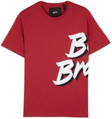 Blood Brother Ad Printed Cotton T-shirt