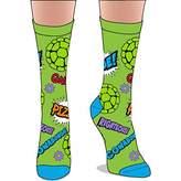 Nickelodeon Teege Mutant Ninja Turtles Crew Socks