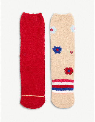 Stance Cozy woven socks set of two