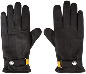 Paul Smith Black Strap Entry Gloves