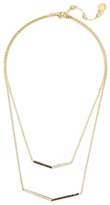 Vince Camuto Layered Chevron Necklace