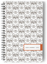 Minted Owls Day Planner, Notebook, or Address Book