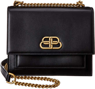 Balenciaga Sharp Small Leather Shoulder Bag