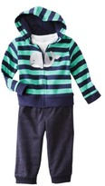 Carter's JUST ONE YOU® Made by Infant Boys' 3 Piece Cardigan Set - Navy/Green