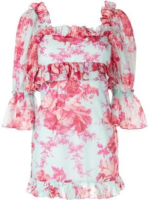 Alice McCall ruffle trim mini dress