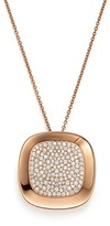 Roberto Coin 18K Rose Gold Carnaby Street Diamond Necklace, 28""