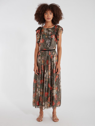 Caballero Chelsea Lurex Maxi Dress