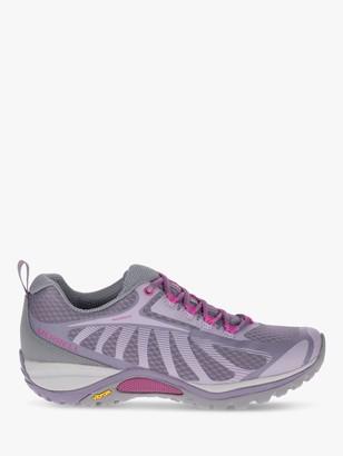 Merrell Siren Edge 3 Women's Walking Shoes, Shark/Fuchsia
